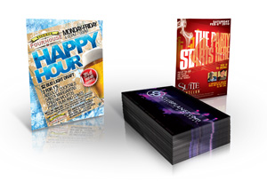 UV Coated Club Flyers